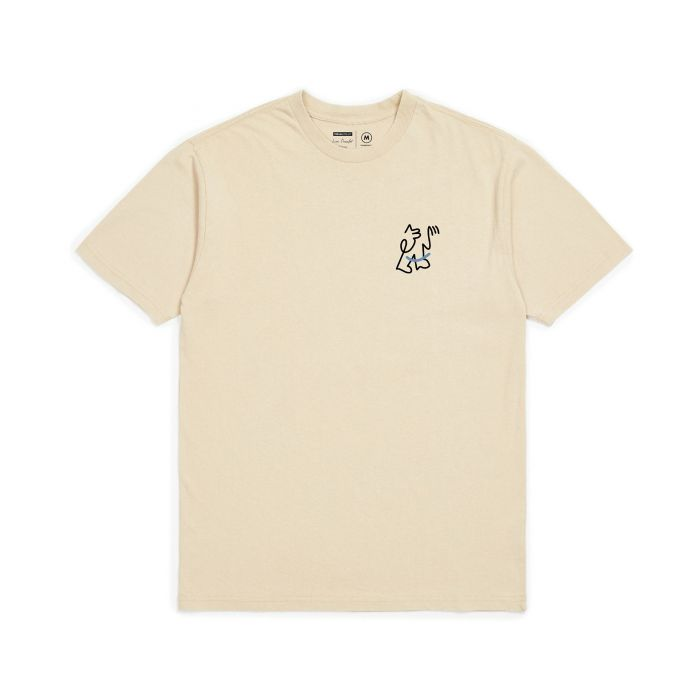 Brixton Motion S/S Standard Tee in Sand