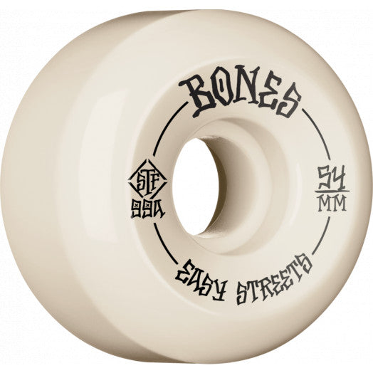 Bones Naturals 54mm Easy Streets V5 Skate Wheels
