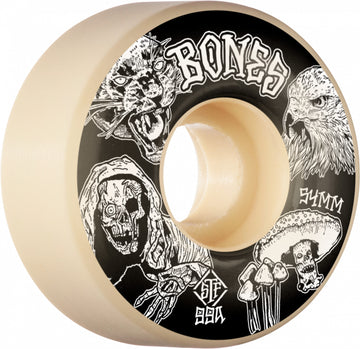 Bones Night Watch Easy Streets Skate Wheel in 99a 54 mm