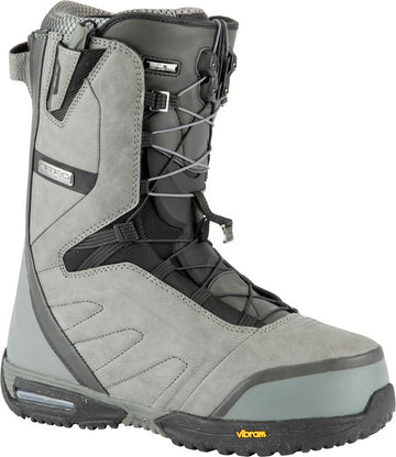 2021 Nitro Select TLS Snowboard Boots in Charcoal and Black