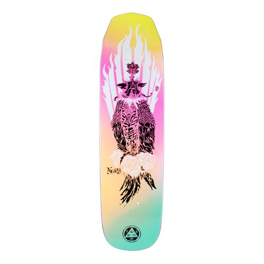 Welcome Nora Vasconcellos Peregrine on Wicked Queen Shape Skate Deck 8.6