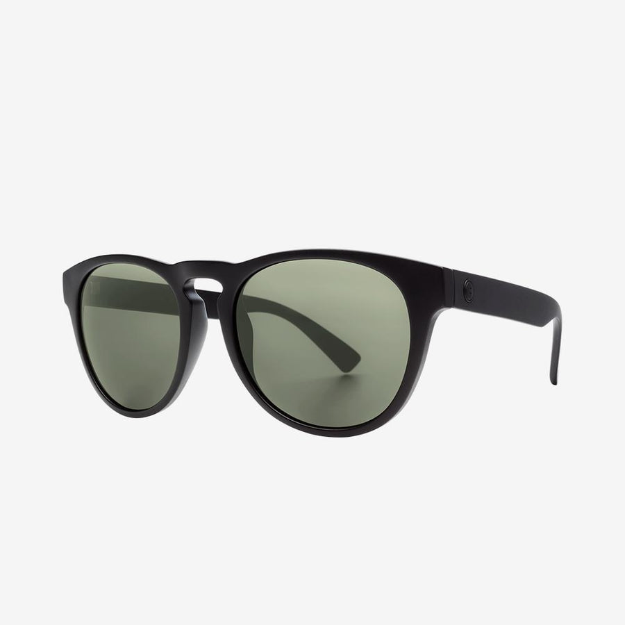 Electric Nashville XL Sunglasses in Matte Black and Ohm Grey
