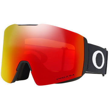 2021 Oakley Fall Line XM Snow Goggle in Matte Black with a Prizm Torch Iridium Bonus Lens