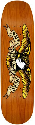 Antihero Eagle Orange Crusher Skateboard Deck in 9.1''