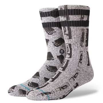 Stance Pay Phone Sock in Blue