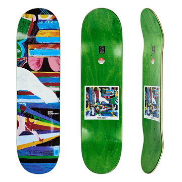 Polar Skate Co Boserio Memory Palace Skate Deck in 8.5
