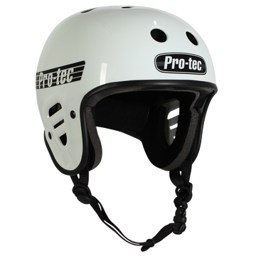 Pro-Tec Full Cut Skate Helmet in Gloss White