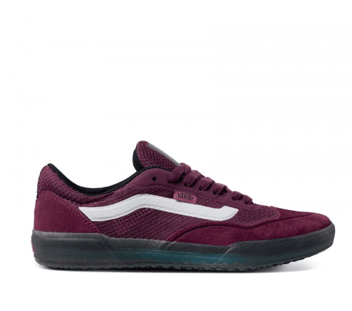 Vans Ave Pro Skate Shoe in Prune and True White