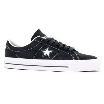 Converse One Star Pro Ox in Black and White