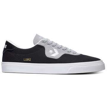 Converse Louie Lopez Pro in Black Wolf Grey and White