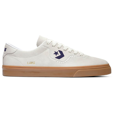 Converse Louie Lopez Pro in Egret Obsidian and Gum