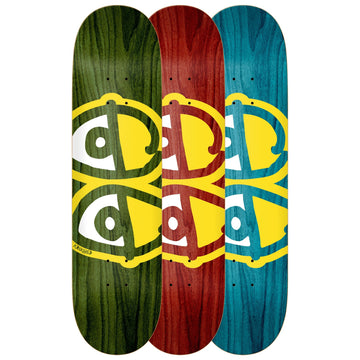 Krooked Eyes Skate Deck in 8.75