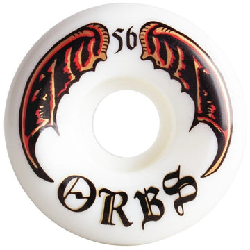 Orbs Specters White Skate Wheel 99a 56mm