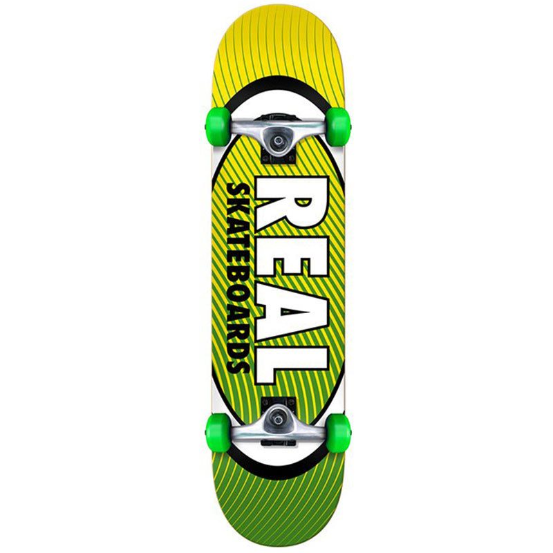 Real Oval Heatwave Complete Skateboard in 7.5''