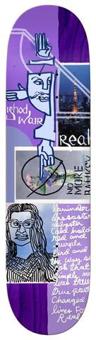 Real Ishod Postcards From Mark Skateboard Deck in 8.12''