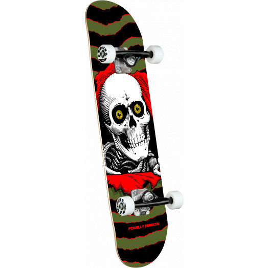 Powell Peralta Ripper One Off Skate Complete in Olive in 7''