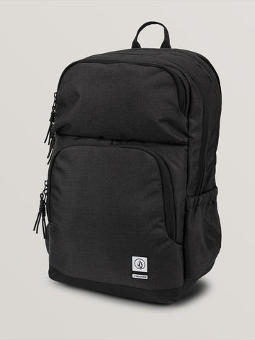 Volcom Roamer Backpack in Vintage Black