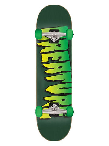 Creature Logo Full Complete Skateboard Deck in 8
