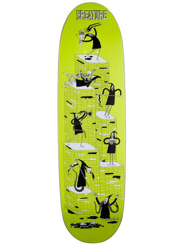 Creature Free For All LG Powerply  Skateboard Deck in 8.8