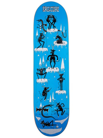 Creature Free For All MD Powerply  Skateboard Deck in 8.5