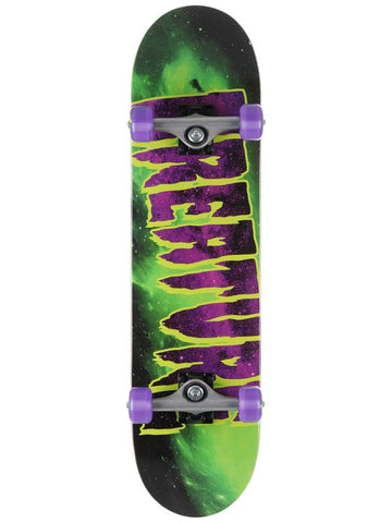 Creature Galaxy Logo Mid Complete Skateboard Deck in 7.8