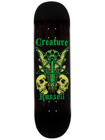 Creature Russell Coat of Arms VX  Skateboard Deck in 8.6