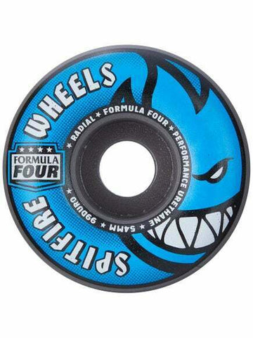 Spitfire Formula Four Radials in Grey and Blue 54mm Skate Wheel
