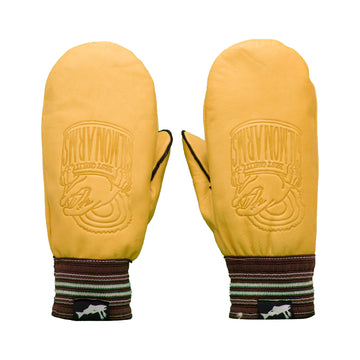 2021 Salmon Arms Raber Brown Snow Mitts