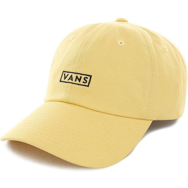 Vans Curved Bill Hat in Sulphur Yellow