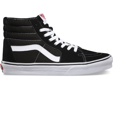 Vans SK8 HI Shoe in Black and White