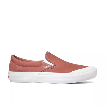 Vans Slip-On Pro in Brick Dust and White