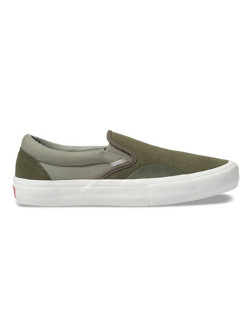 Vans Slip-On Pro in Grape Leaf and Laurel Oak