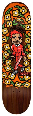 Krooked Gonz Sweatpants Skate Deck in 8.5