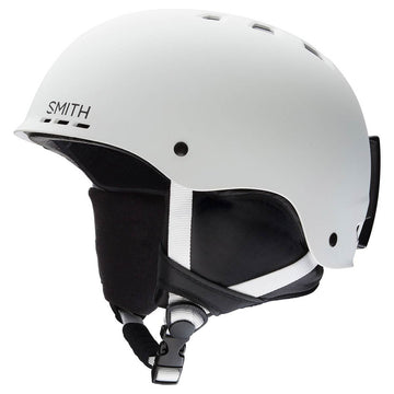2020 Smith Holt Snow Helmet in Matte White