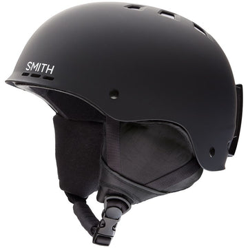 2020 Smith Holt Snow Helmet in Matte Black