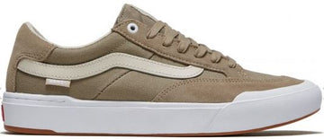 Vans Berle Pro Skate Shoe in Rainy Day and Desert Taupe