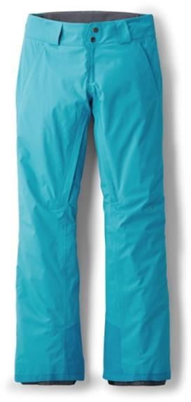 2020 Patagonia Womens Insulated Snowbelle Pants in Curacao Blue