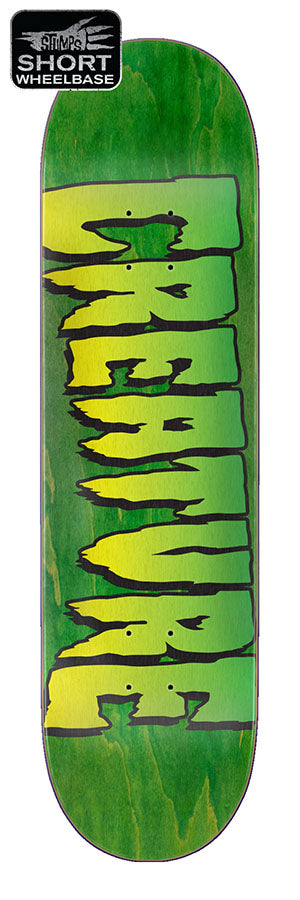 Creature Logo Stumps Skate Deck in 8.5