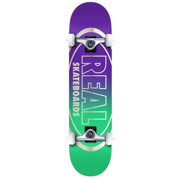 Real Golden Oval Out Skateboard Complete in 8.0