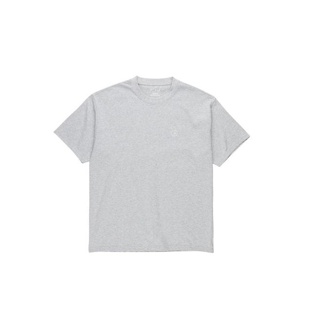 Polar Skate Co Team T Shirt in Sport Grey