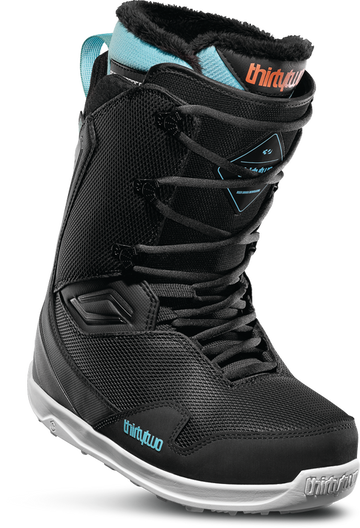 2020 Thirty Two (32) Womens Team 2 Snowboard Boot in Black Blue and White