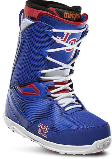 2020 Thirty Two (32) Team 2 (TM2) Quick Strike Johnny O'Connor Snowboard Boot in Blue Red and White