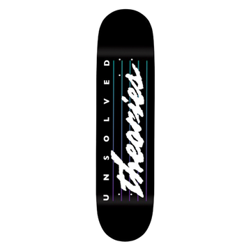 Theories Unsolved Theories Skate Deck