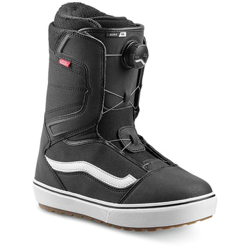 2022 Vans Aura Og Snowboard Boot in Black and White side view