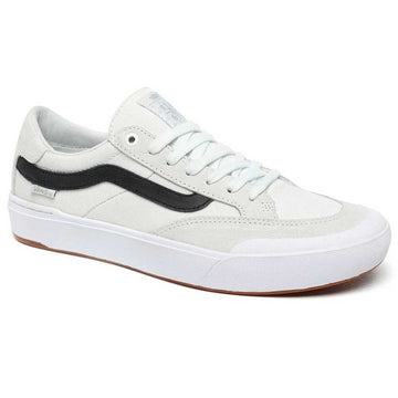 Vans Berle Pro Skate Shoe in Pearl and White
