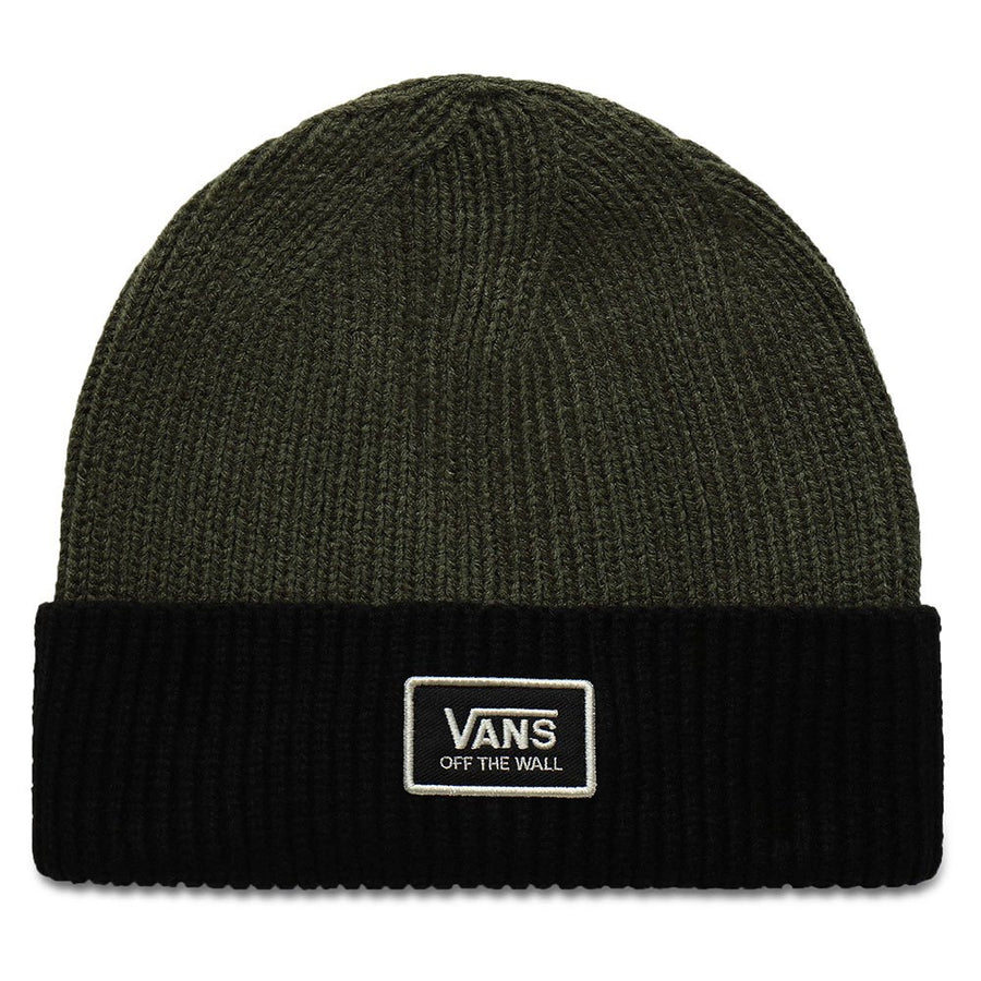 Vans Falcon Beanie in Grape Leaf and Black