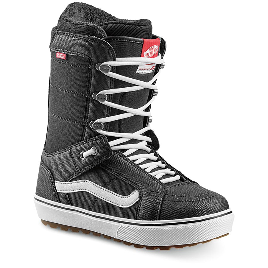 2021 Vans Hi Standard OG Womens Snowboard Boot in Black and White
