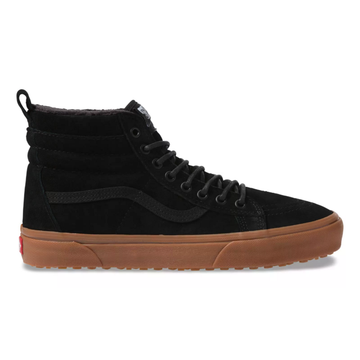 2021 Vans SK8 Hi MTE in Black and Gum