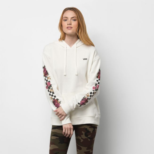 Vans Brunching Check Hoodie in Marshmallow