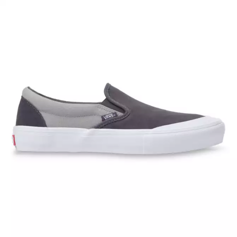 Vans Slip on Pro Skate Shoe in Periscope and Drizzle